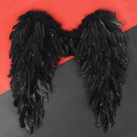 Angel wings 60*57, black