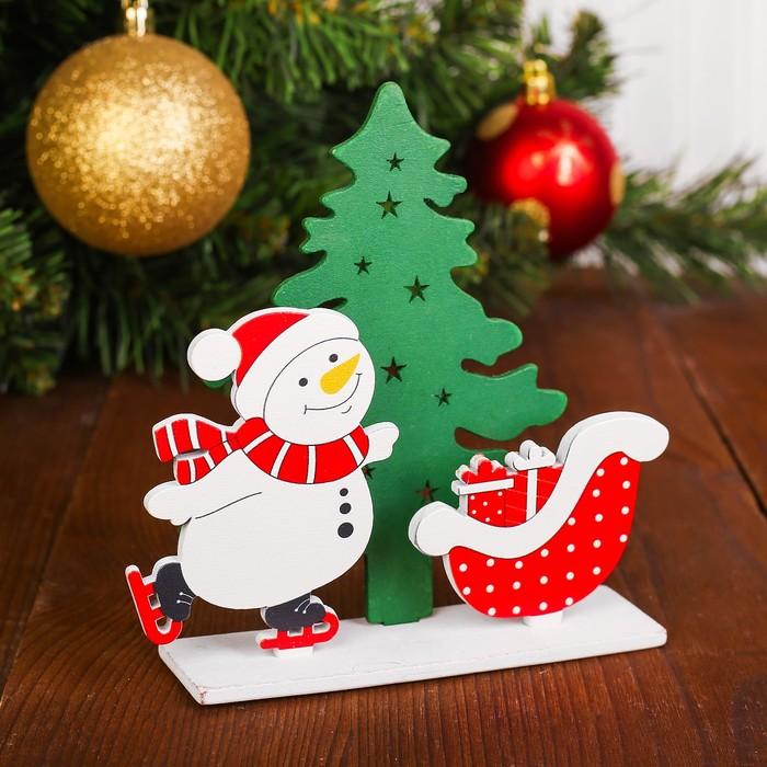 Декор «Снеговик»