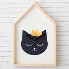 """Shelf-cabin clock """"the Cat"""", 25 x 19 cm"""