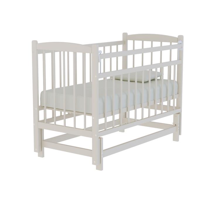 Кровать детская «Колибри» маятник поперечный, цвет слоновая кость