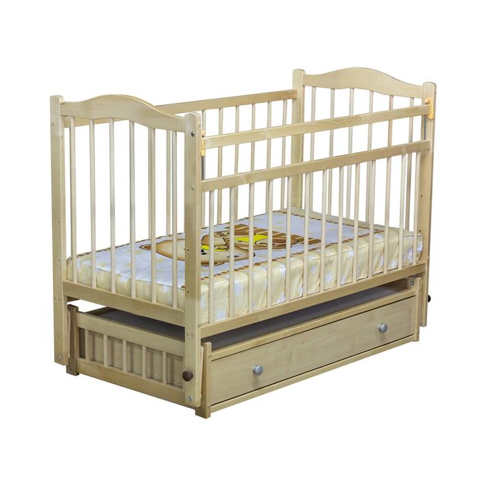 Кровать детская «Колибри 6», цвет натуральный