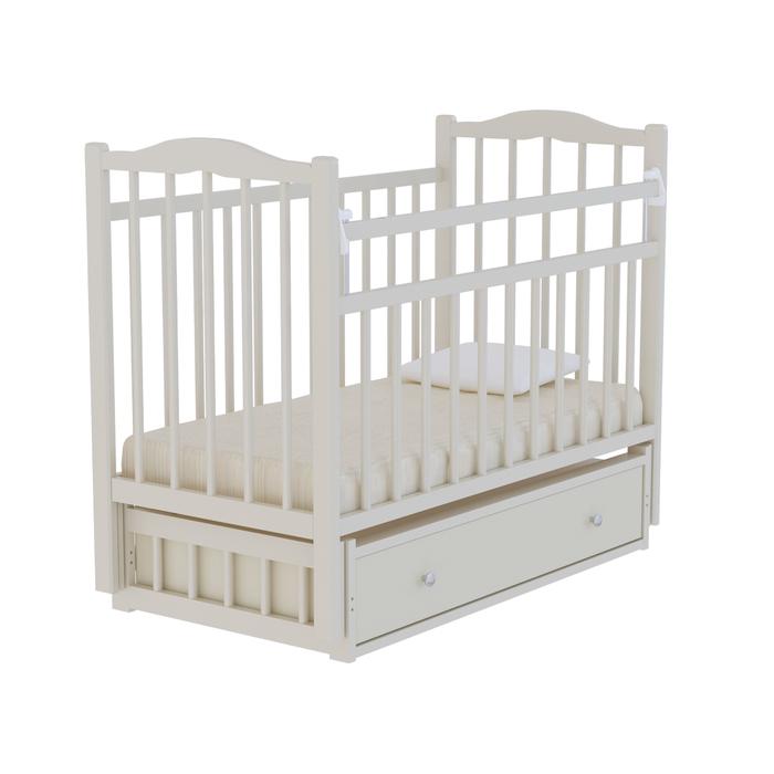Кровать детская «Колибри 6», цвет слоновая кость