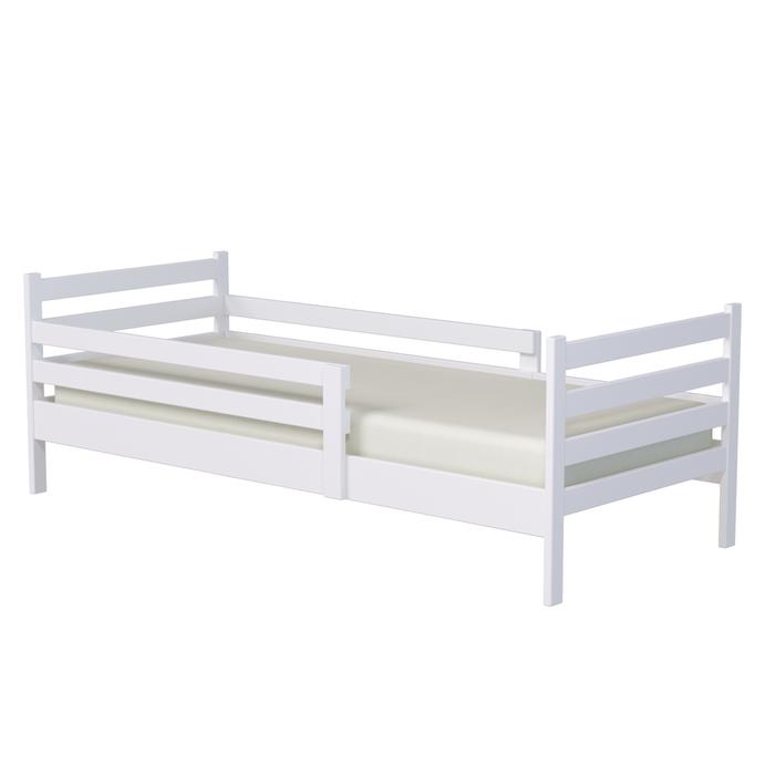 Кровать подростковая «Колибри», 160х80 см, цвет белый