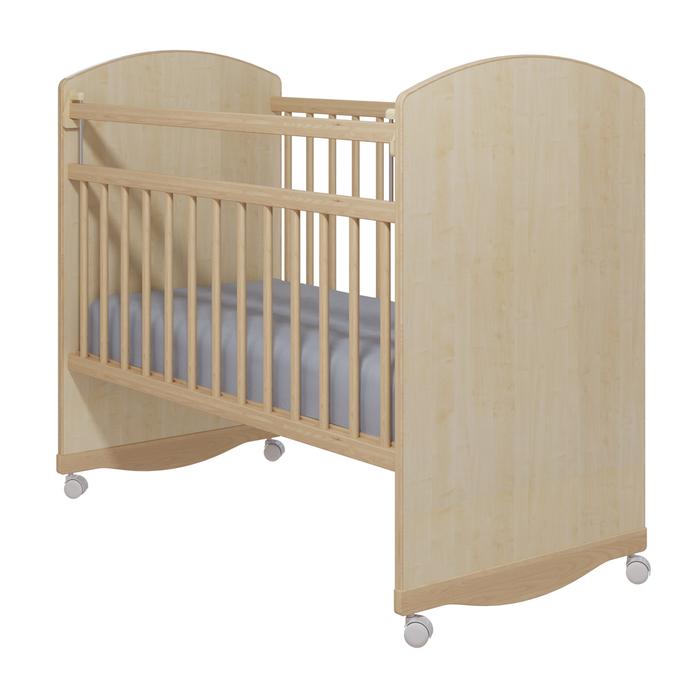 Кровать детская «Колибри-Классик 3», цвет клён