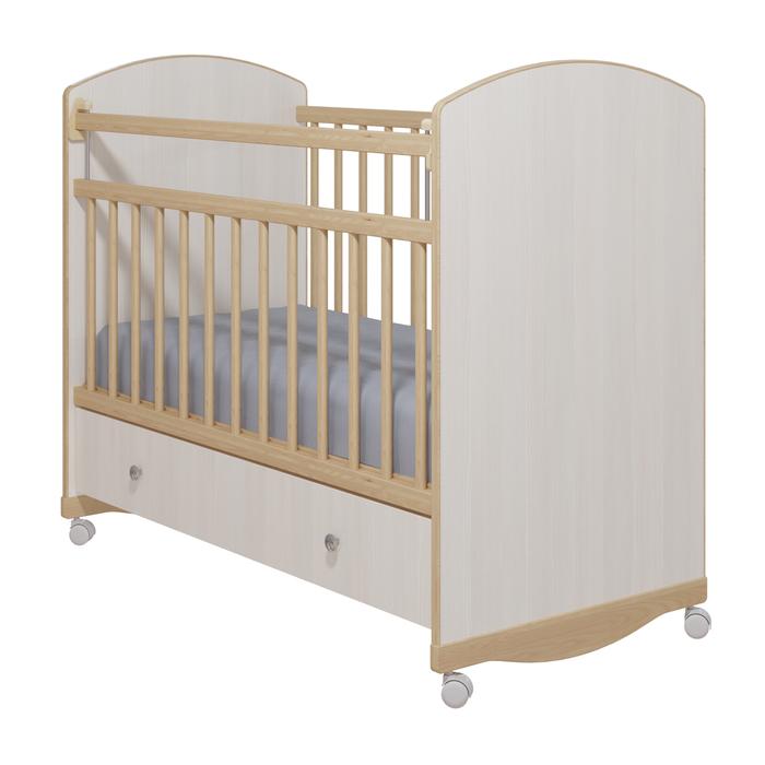 Кровать детская «Колибри-Классик 3» с ящиком, цвет бодега светлый