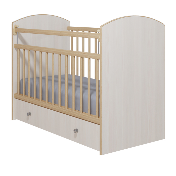 Кровать детская «Колибри-Классик 5», цвет бодега светлый