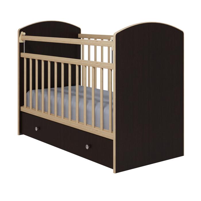 Кровать детская «Колибри-Классик 5», цвет венге