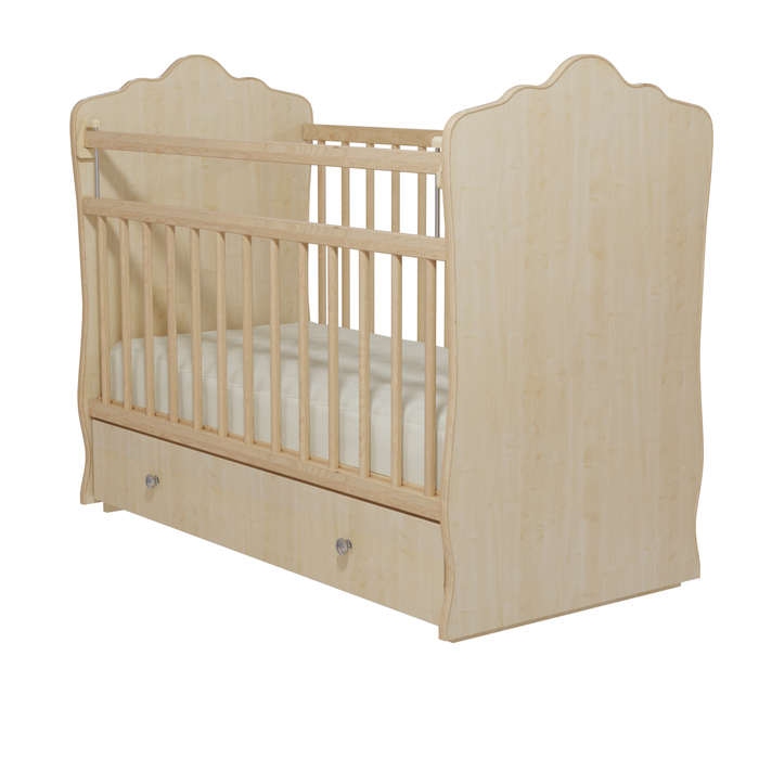 Кровать детская «Колибри-Велла 5», цвет клён