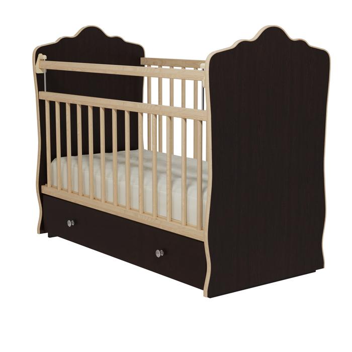 Кровать детская «Колибри-Велла 5», цвет венге
