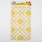 "Tablecloth ""Ornament"" 108х180 cm, color yellow"