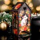 Чайный домик  «Крыска в цветах», 9,5×9,5×20 см