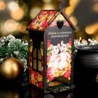 Чайный домик  «Мышки в пионах», любви и семейного благополучия, 9,5×9,5×20 см