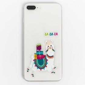 Наклейки на телефон «Снежная лама», 8 × 14 см Ош