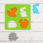 """Developmental Mat """"Forest animals"""" out of felt,"""