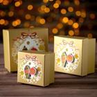Set boxes 3in1 brand-spanking-new, 13 x 13 x 8 - 9 x 9 x 6 cm