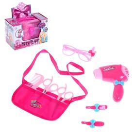 Игровой набор парикмахера «Причёски для принцессы», в чемодане