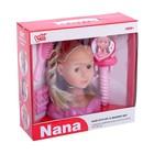 Кукла-манекен для создания причёсок «Нана» с аксессуарами - фото 105581544