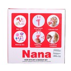 Кукла-манекен для создания причёсок «Нана» с аксессуарами - фото 105581545
