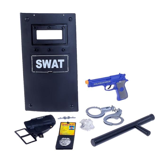 Набор полицейского SWAT, 9 предметов