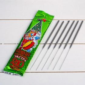 Бенгальские огни, 21 см, 6 штук, 'Экстра' Ош