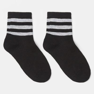 Носки детские, цвет чёрный, р-р 20-22