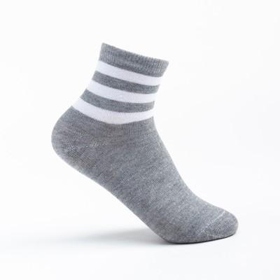 Носки детские, цвет серый, р-р 20-22