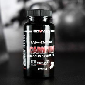 L-карнитин IRONMAN, 60 капсул