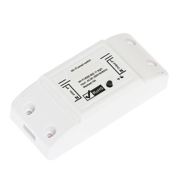 Реле с Wi-Fi  Lighting управление с телефона 10А, 220 В, для любого прибора