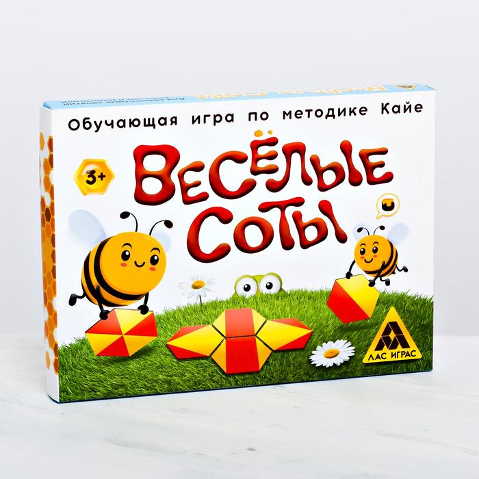Развивающая игра «Весёлые соты» по методике Кайе