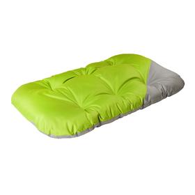Матрас для собак двухсторонний, 134 х 70 см, серо-зеленый