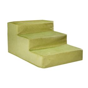 "Лесенка для собак ""Фисташка"", 3 ступени, мебельная ткань, 60 х 40 х 30 см"