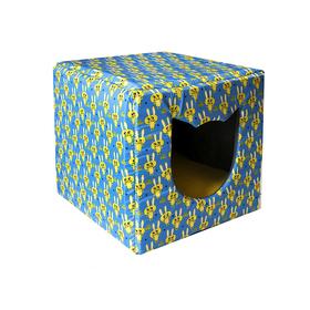 """Дом-трансформер """"Кот"""" расцветка Зайчик, 42 см"""