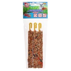 Палочки Seven Seeds Эконом для грызунов, овощи/шиповник/абрикос, 3 шт, 75 г