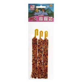 Палочки Seven Seeds Эконом для птиц, кунжут/мёд,/кокос, 3 шт, 75 г