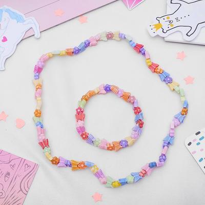 "Children set ""Vibracula"" 2 pieces: necklace, bracelet, butterfly"