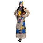 Карнавальный костюм «Баба-Яга», размер 44