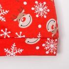 """Чепчик (шапочка) Крошка Я """"Новогодний оленёнок"""", красный, р.40 - фото 105570180"""