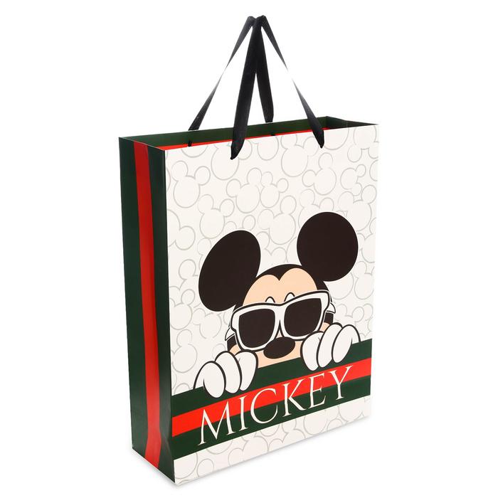 Пакет ламинат вертикальный Mickey, 31х40х11 см, Микки Маус