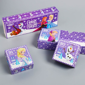 Подарочная коробка «С Новым Годом!», Холодное сердце, 27,2 х 9,4 х 4,8 см