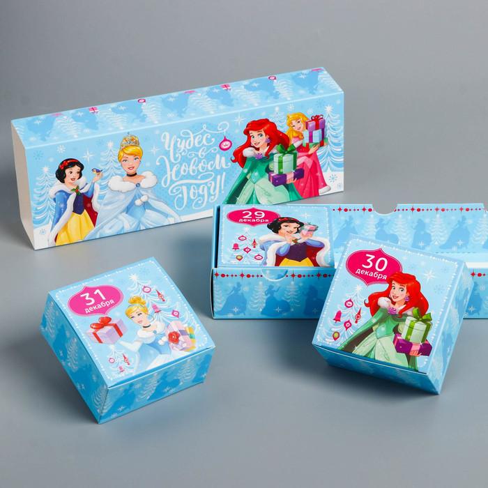 Подарочная коробка «С Новым Годом!», Принцессы, 27,2 х 9,4 х 4,8 см