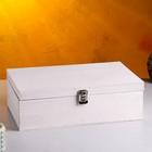 Подарочный ящик, состаренный, 34×21,5×10,5 см