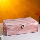 Подарочный ящик, брашированный, 34×21,5×10,5 см