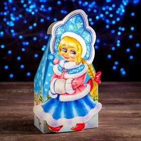 "A cardboard box ""the snow maiden"", 27 x 8.6 x 16.5 cm"