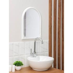 Зеркало в рамке 49,5×39 см, цвет белый