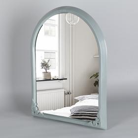 Зеркало в рамке 49,5×39 см, цвет серый