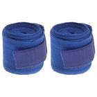 Бинты хлопковые для бокса, длина 3 м, цвет синий