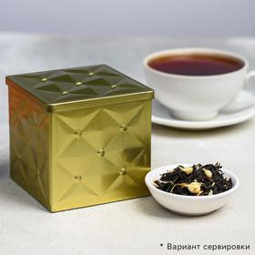 Чай чёрный «Подарочный»: жасмин, 100 г.