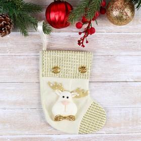 "Stocking ""the Golden thread"" 12*16.5 cm deer"