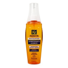 """Спрей-уход для волос Floresan """"Термозащита и блеск"""", 135 мл"""