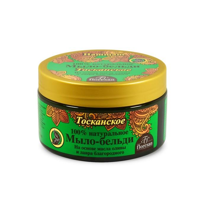 """Бельди Floresan """"Марсельское"""" 100% натуральное, с маслами оливы и лавра, 300 мл"""